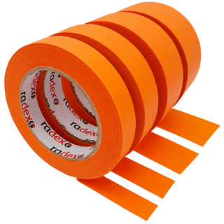 Klebeband Radex Orange 80°C 50 m