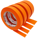 Klebeband Radex Orange 80°C 25 mm x 50 m